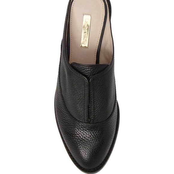 f7f166f2ef0 Louise et Cie Freyda Leather Loafer Mule Black